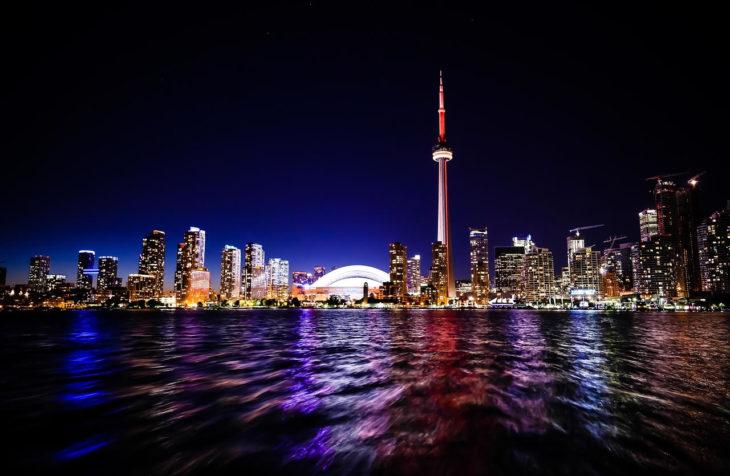 Ville de Toronto au Canada