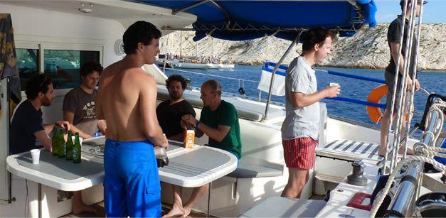 le catamaran avec skipper